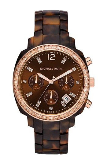 Michael Kors 'Wolcott' Chronograph Bracelet Watch, 41mm available at #Nordstrom