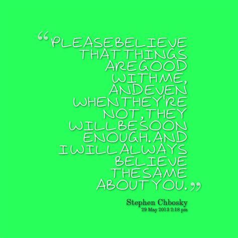 Please Believe Me Love Quotes