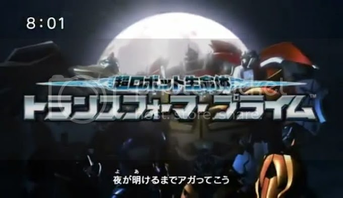 Transformers Prime New OP and ED