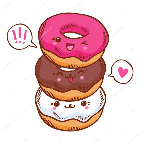 pictures cute donut  cute kawaii donuts stock