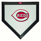 Schutt MLB Cincinatti Reds Mini Home Plate