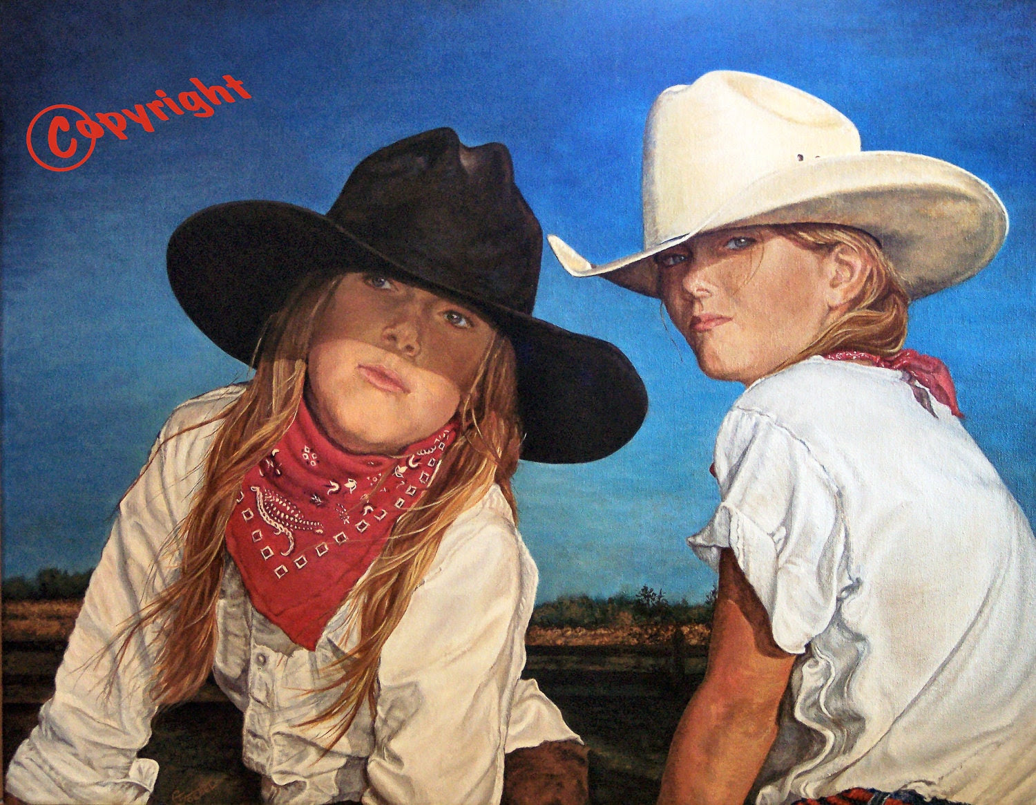Popular items for western painting on Etsy