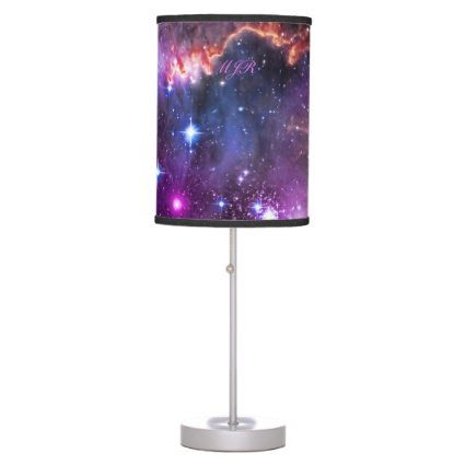 Monogram Starry Wingtip of Small Magellanic Cloud Desk Lamps