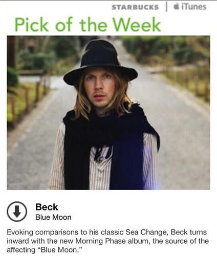 Starbucks iTunes Pick of the Week - Beck - Blue Moon