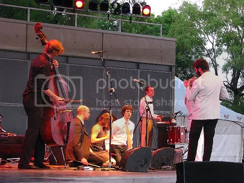 Bell Orchestre @ Harbourfront: photo by Michael Ligon