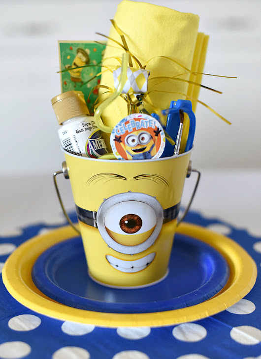 Minion Birthday Party – Fun-Squared