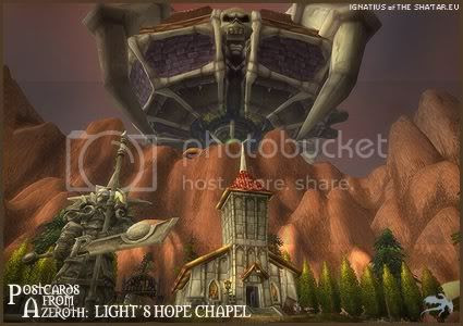 Postcards of Azeroth: Light's Hope Chapel, submitted by Ignatius