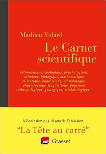 Couverture Le carnet scientifique