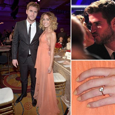 Miley Cyrus and Liam Hemsworth Engaged   Raymond Lee