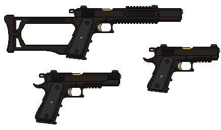 Vulpine Industries   Concepts: Colt M1911 'Vixen' by