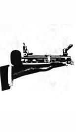 Педаль бас-барабана Ludwig из каталога 1912 года