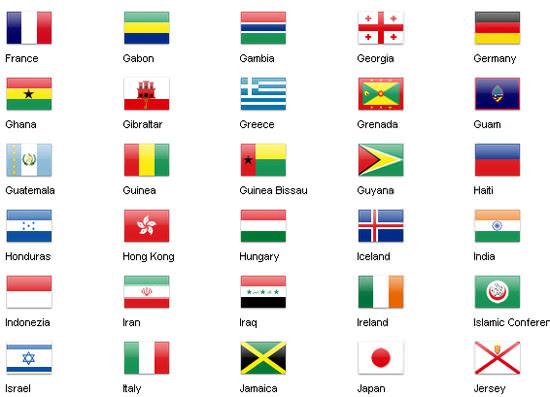 保存版世界中の国旗をモチーフにした無料アイコン10セットまとめ
