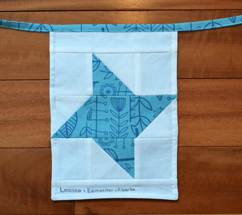 To Boston with Love - Friendship Star Flag, back
