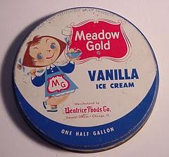 Mary Blair Ice Cream carton lid