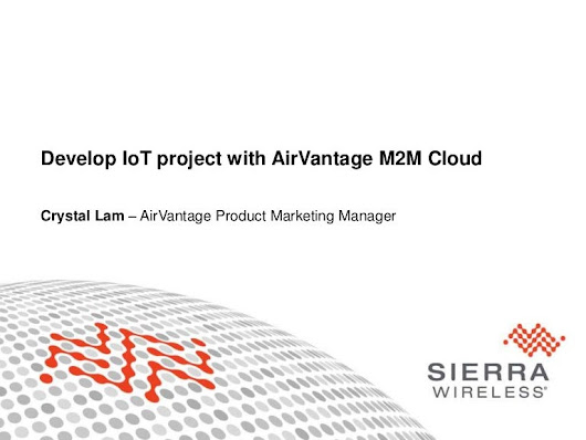 Develop IoT project with AirVantage M2M Cloud