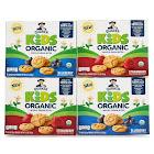 Quaker Kids Organic Whole Grain Bites, 2 Flavor Variety Pack, 1.05oz Pouches, 20 Count