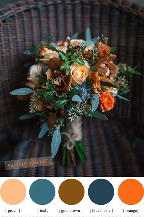 Best 25  Peach wedding bouquets ideas on Pinterest   Peach