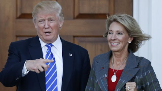 Tell Your Senators: Oppose Betsy DeVos for Education Secretary
