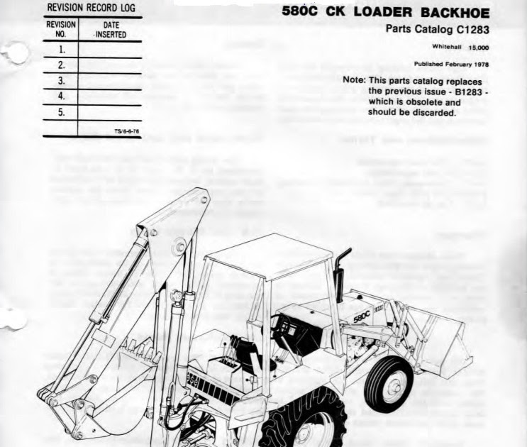 Heavy Equipment Repair Manuals