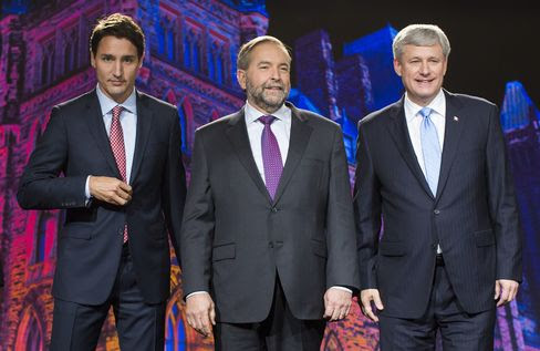 The Globe And Mail Leaders' Debate 2015