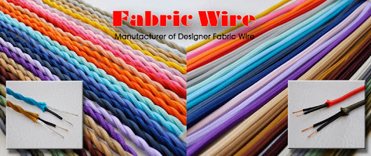 Cloth Covered Wire - Flat and Twisted Rayon Covered Wire