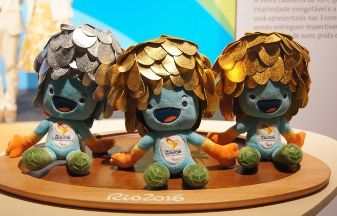 mascote, Tom, Paralimpíada, Rio 2016 (Foto: Thierry Gozzer)