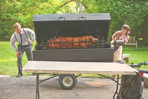 Hog Roast For Wedding Reception