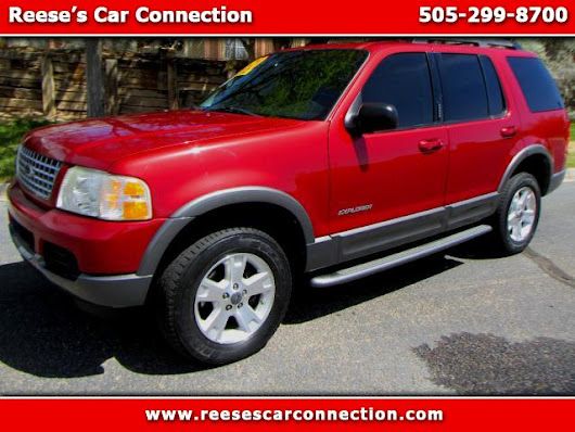 Used 2005 Ford Explorer for Sale in Albuquerque, Santa Fe, Rio Rancho, Los Lunas, Belen NM 87123, 87111, 87112, 87114, 87124, 87108 Reese's Car Connection