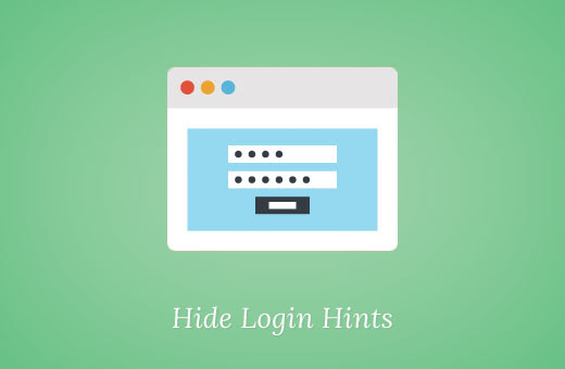 How to Disable Login Hints in WordPress Login Error Messages