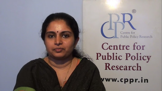 """The time has come to open up khadi sector"": Dr Lekshmi R Nair - Centre for Public Policy Research (CPPR)"