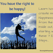 7 Easy Steps to Create Happiness in Your Life | Sharing  Self Improvement