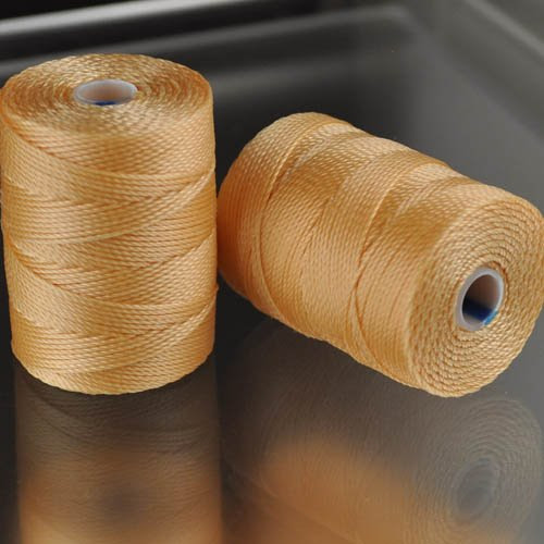 s25022 Thread -  C-Lon Bead Cord - Apricot (Spool)