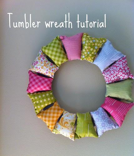 Tumbler wreath tutorial