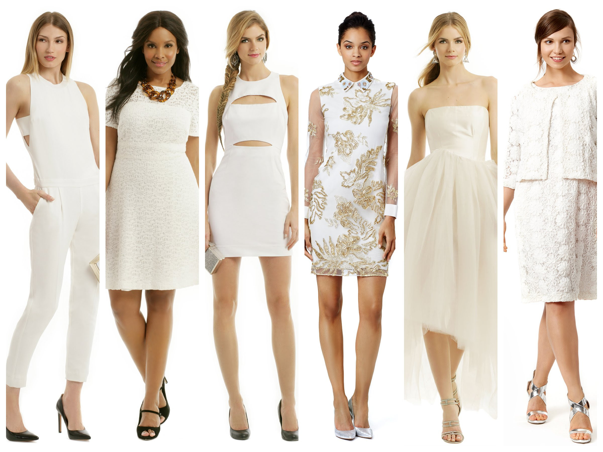 party pretty in white  new year's eve dresses