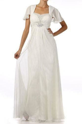 Bell Sleeve Wedding Dress   eBay