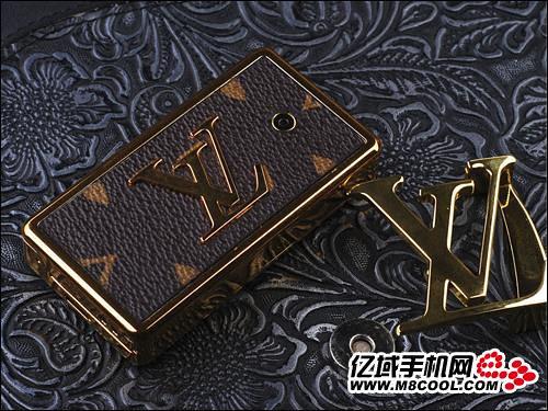 Louis Vuitton Belt Buckle Cellphone