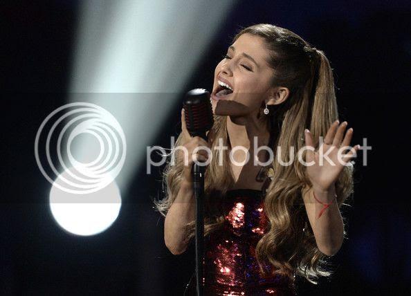 Watch: Ariana Grande kicks off AMAs with 'Tattooed Heart'...