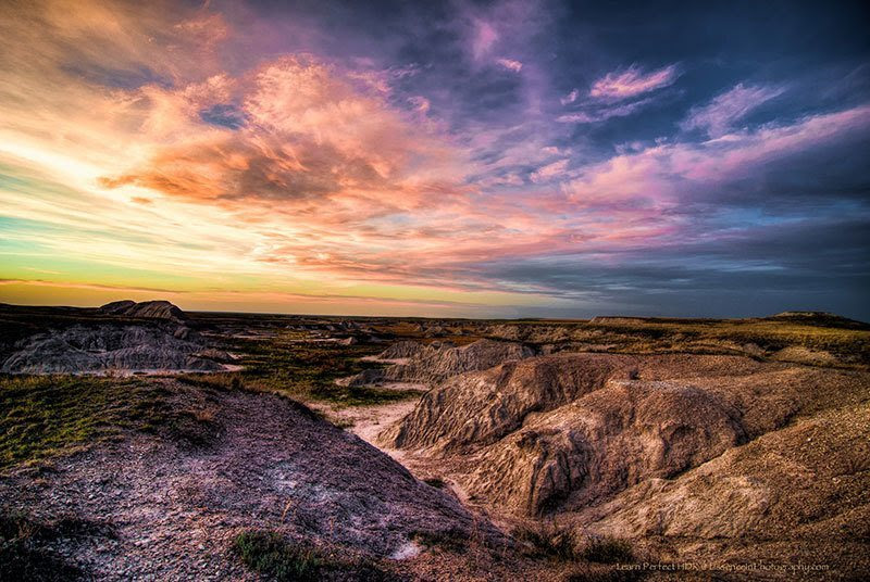 Beautiful National Parks Badlands South Dakota