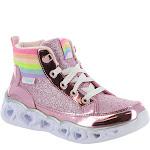 Girls' Skechers S Lights Heart Lights Rainbow Diva Sneaker