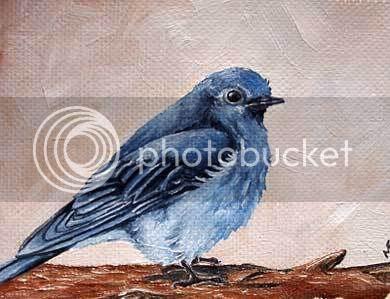 watercolor chickadee painting