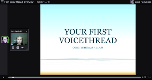 VoiceThread: Enhancing Virtual Interaction for Dialogue and Synthesis | Nursing Informatics