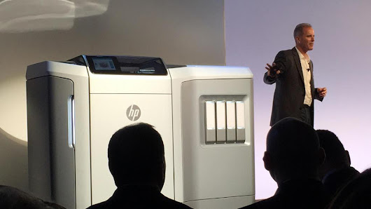 Hp unveils ultra fast 3D printing with Thermal Inkjet technology