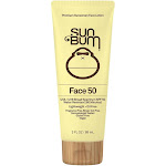Sun Bum 3-ounce Clear Face Lotion SPF 50