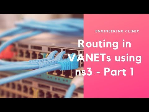 Routing in VANETs using ns3