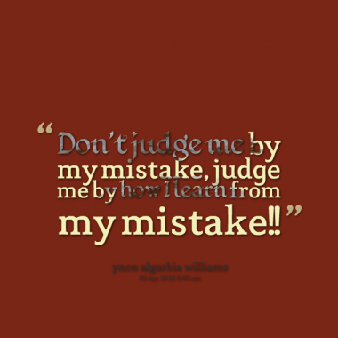 Quotes About Learn From Your Mistakes 78 Quotes