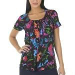 Thakoon for Target Gauze Button Top Cyber Floral