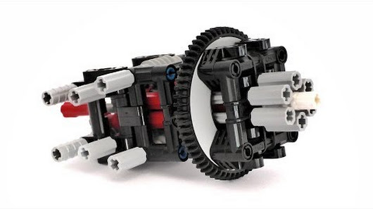 Building Instructions For This Awesome Lego Technic Mechanism