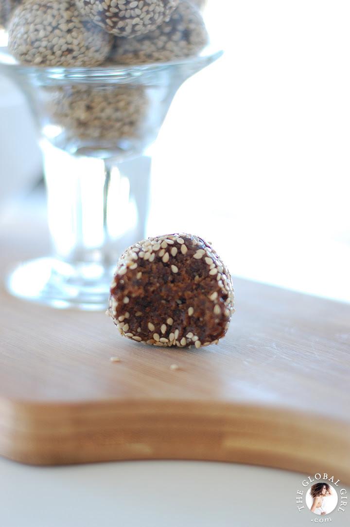 Raw Vegan Chocolate Sesame Balls by Ndoema | Epicurious ...