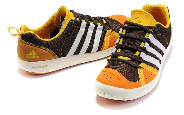 Adidas-Water-Grip-Shoes-Women-brown-white-yeloow_4