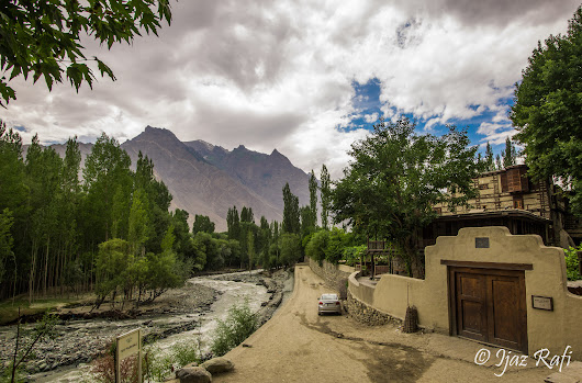 Shigar Fort Residency... 400 years old